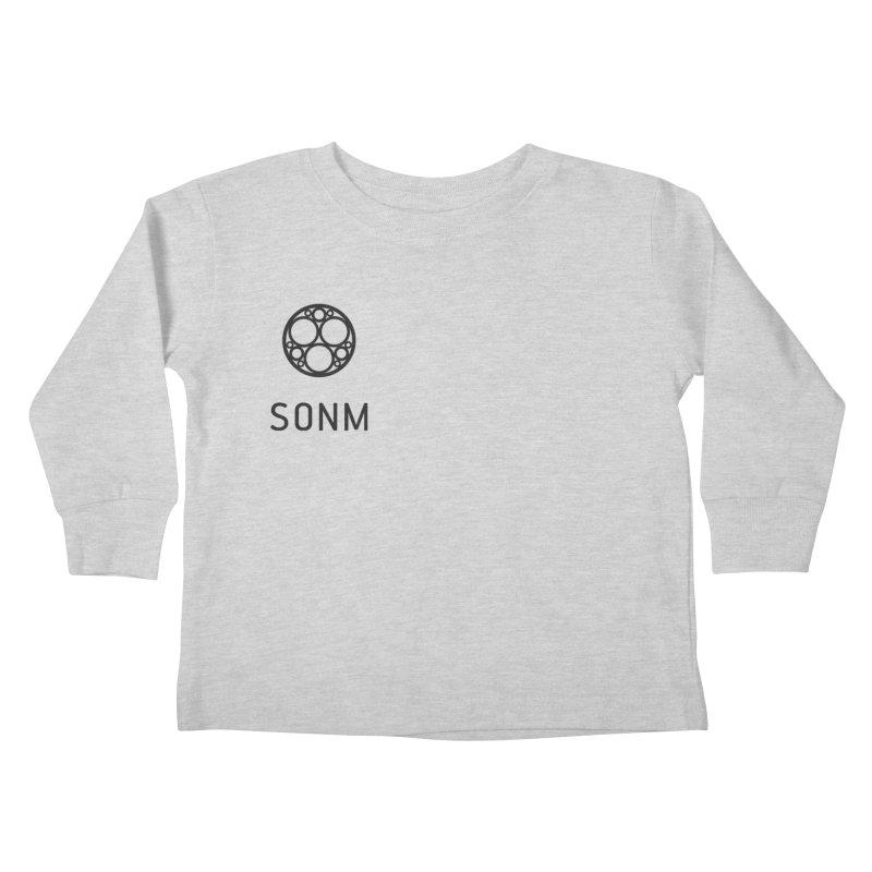 LOGO small Kids Toddler Longsleeve T-Shirt by SONM E-Shop