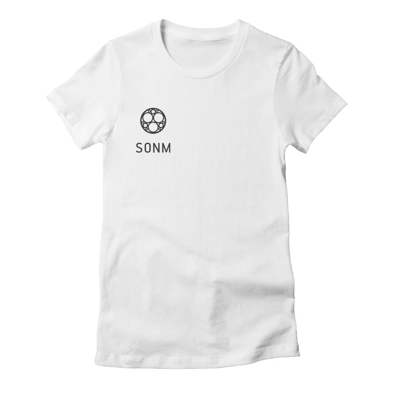 LOGO small Women's Fitted T-Shirt by SONM E-Shop
