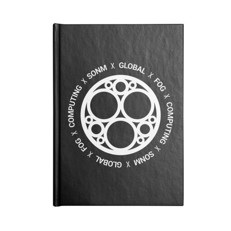 Global Fog Computing Accessories Lined Journal Notebook by SONM E-Shop