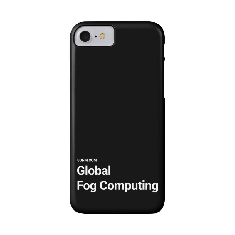 Global Fog Computing Accessories Phone Case by SONM E-Shop