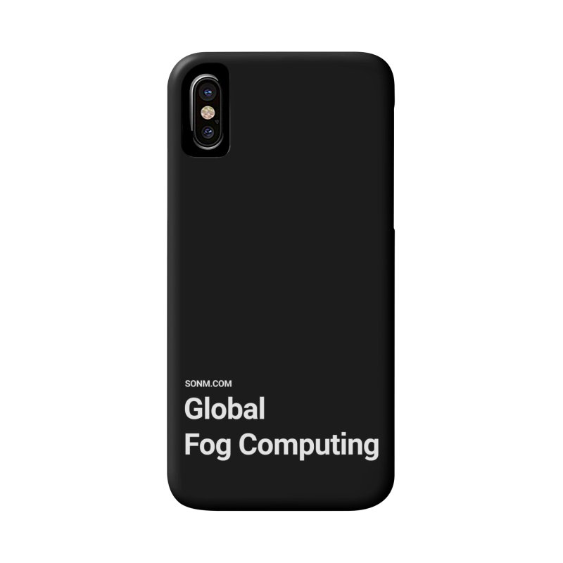 Global Fog Computing in iPhone X / XS Phone Case Slim by SONM E-Shop
