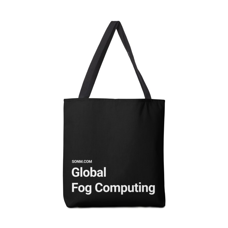 Global Fog Computing Accessories Tote Bag Bag by SONM E-Shop