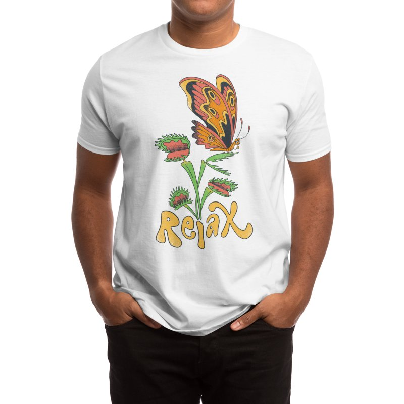 Butterfly Says Relax Men's T-Shirt by hello sonmi