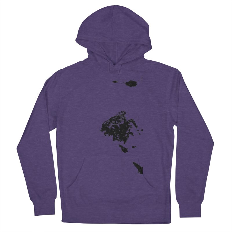 Frogs Bleed Black V1 Men's Pullover Hoody by sonofdod's Artist Shop