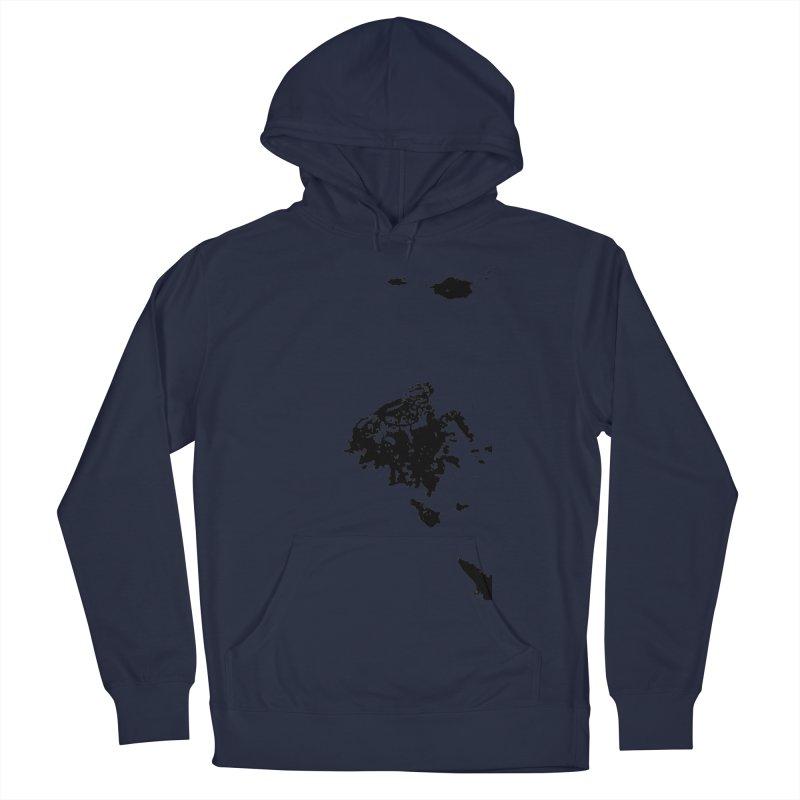 Frogs Bleed Black V1 Men's Pullover Hoody by sonofdod's Artist Shop