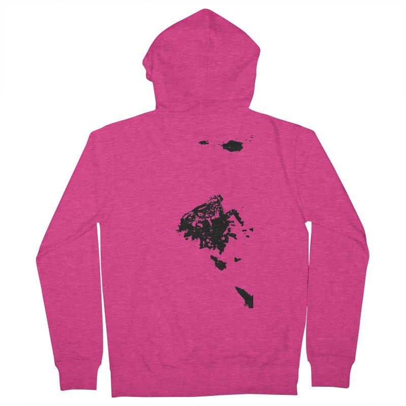 Frogs Bleed Black V1 Women's Zip-Up Hoody by sonofdod's Artist Shop