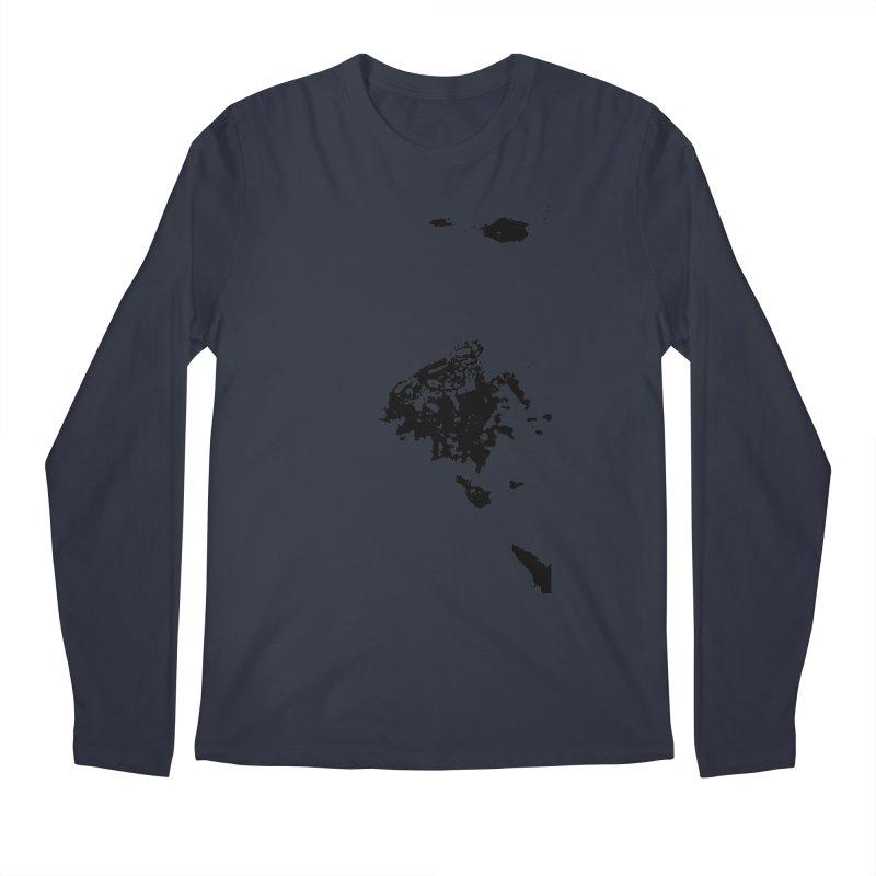 Frogs Bleed Black V1 Men's Longsleeve T-Shirt by sonofdod's Artist Shop