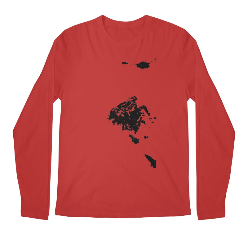 Frogs Bleed Black V1 Men's Longsleeve T-Shirt by sonofdod's Artist Shop