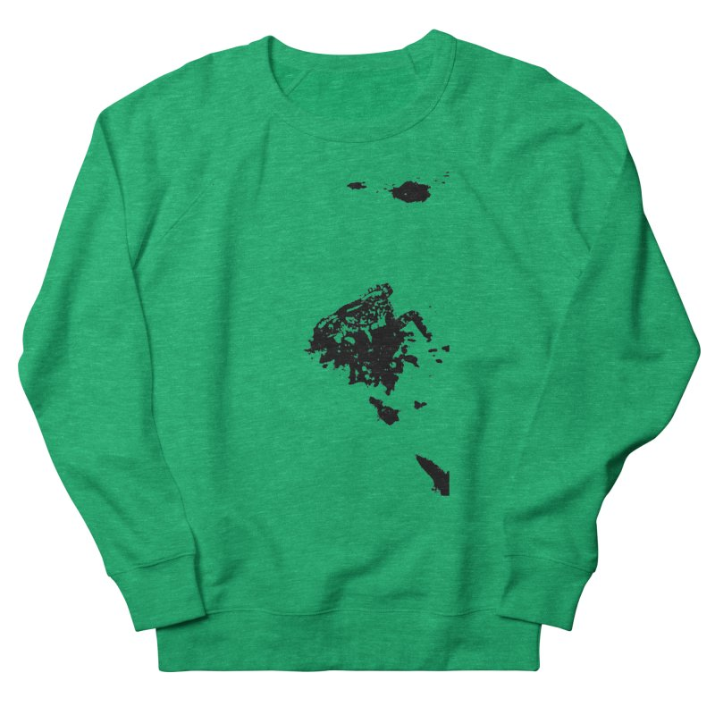 Frogs Bleed Black V1 Women's Sweatshirt by sonofdod's Artist Shop