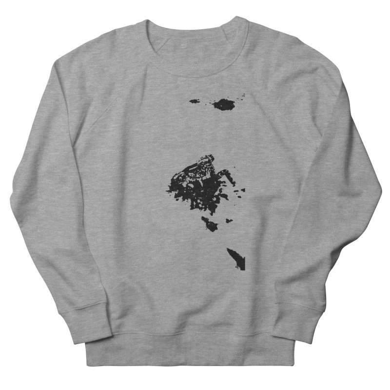Frogs Bleed Black V1 Men's Sweatshirt by sonofdod's Artist Shop