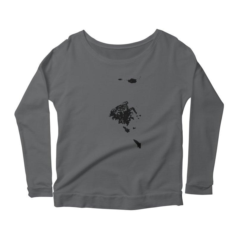 Frogs Bleed Black V1 Women's Longsleeve Scoopneck  by sonofdod's Artist Shop