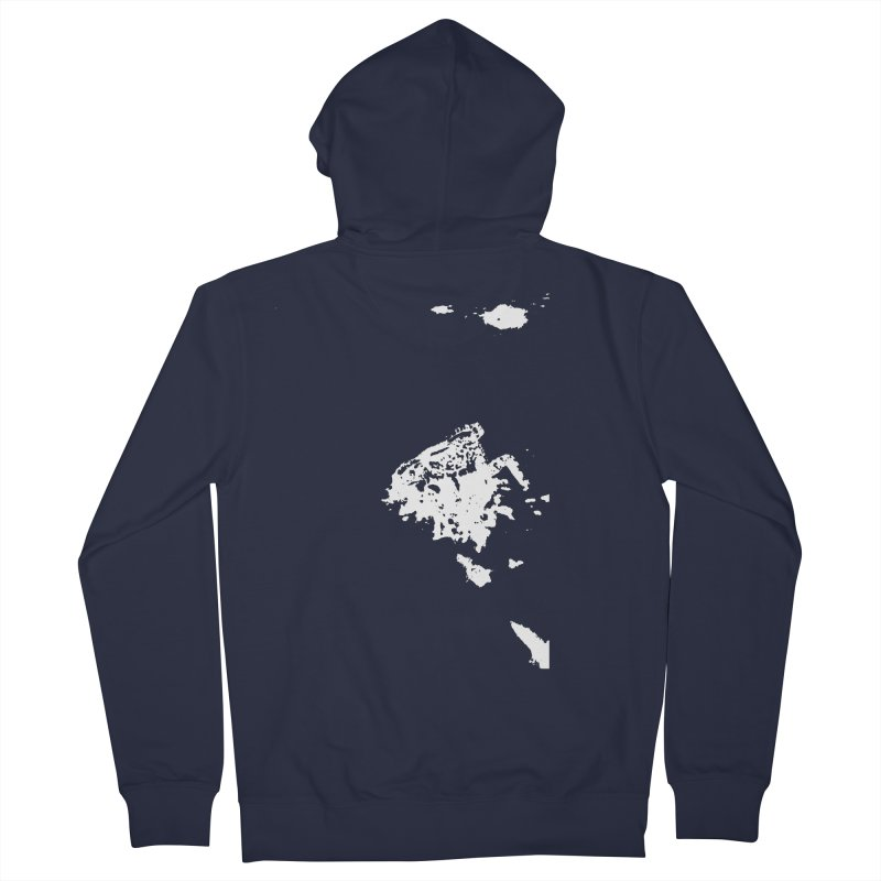 Frogs Bleed Black V2 Men's Zip-Up Hoody by sonofdod's Artist Shop