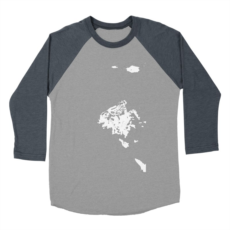 Frogs Bleed Black V2 Men's Baseball Triblend T-Shirt by sonofdod's Artist Shop