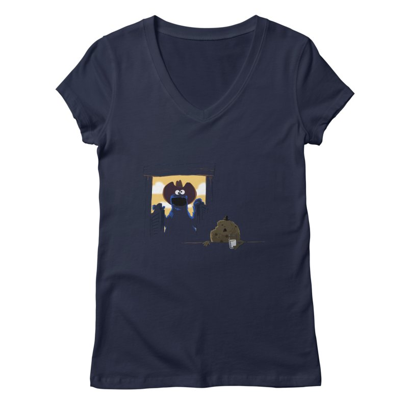 Unfinished Business Women's V-Neck by sonofeastwood's Artist Shop