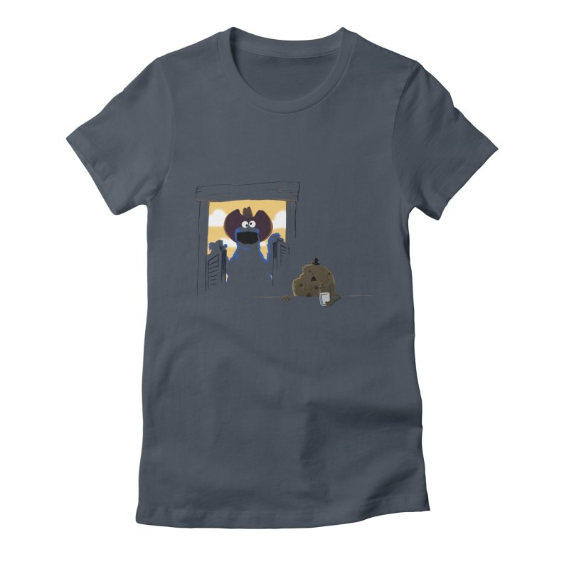 Unfinished Business Women's Fitted T-Shirt by sonofeastwood's Artist Shop