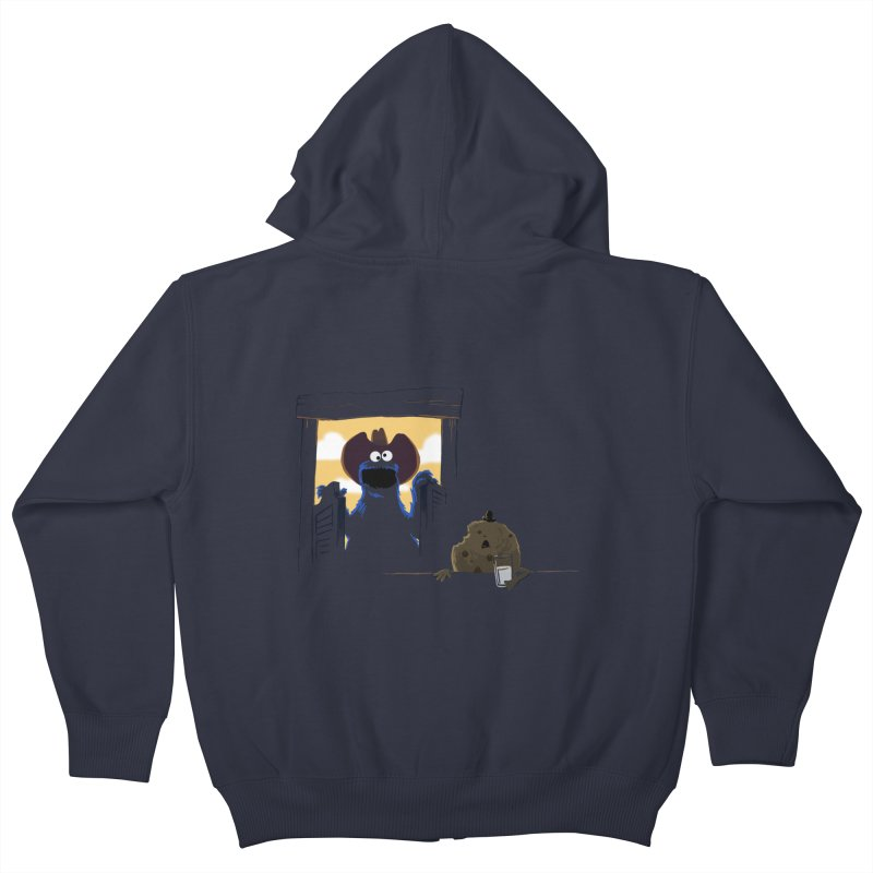 Unfinished Business Kids Zip-Up Hoody by sonofeastwood's Artist Shop