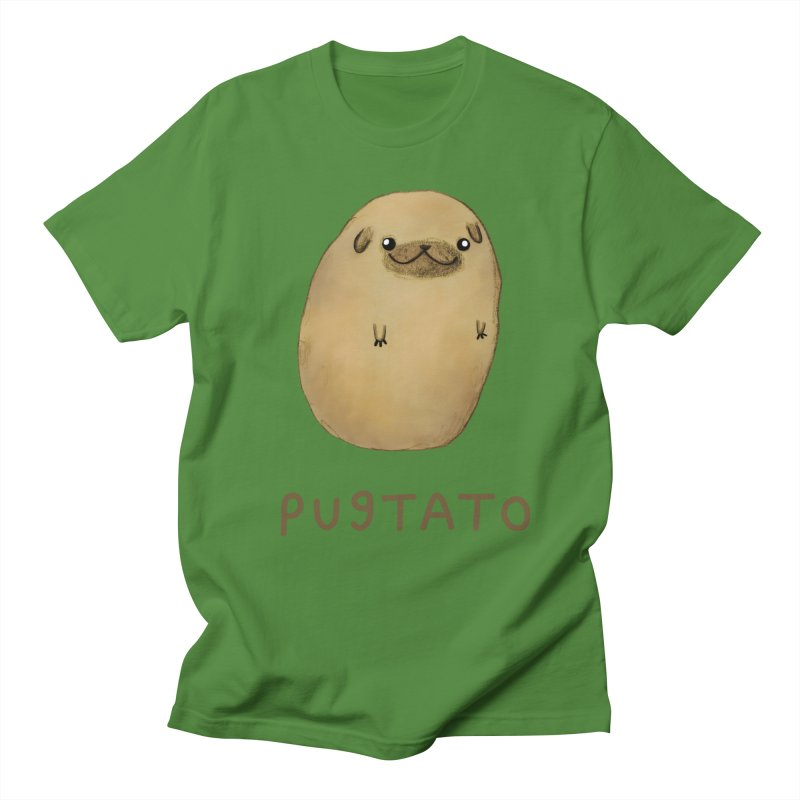 Pugtato Men's T-Shirt by Sophie Corrigan's Artist Shop