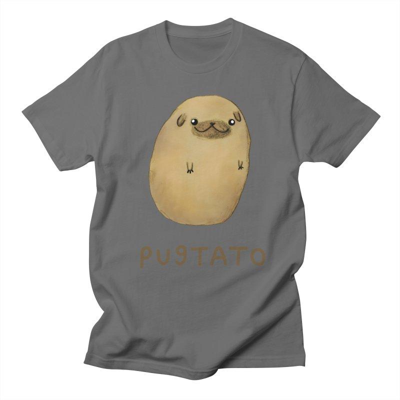 Pugtato Men's T-Shirt by Sophie Corrigan Shop