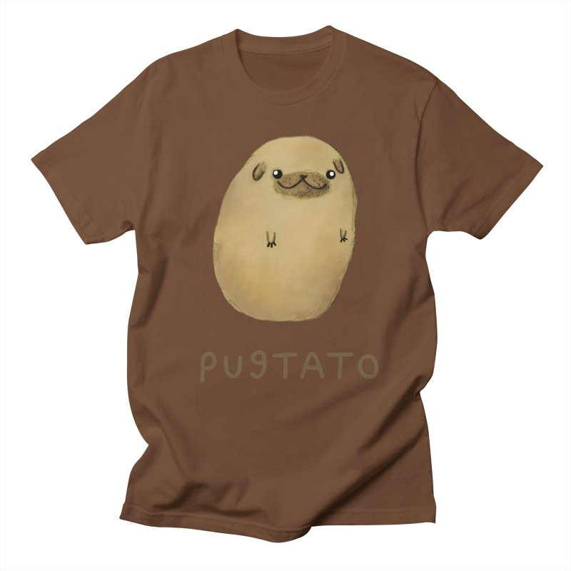 Pugtato Men's T-shirt by Sophie Corrigan's Artist Shop