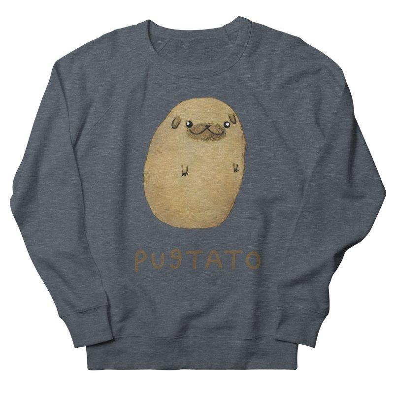 Pugtato Women's Sweatshirt by Sophie Corrigan's Artist Shop