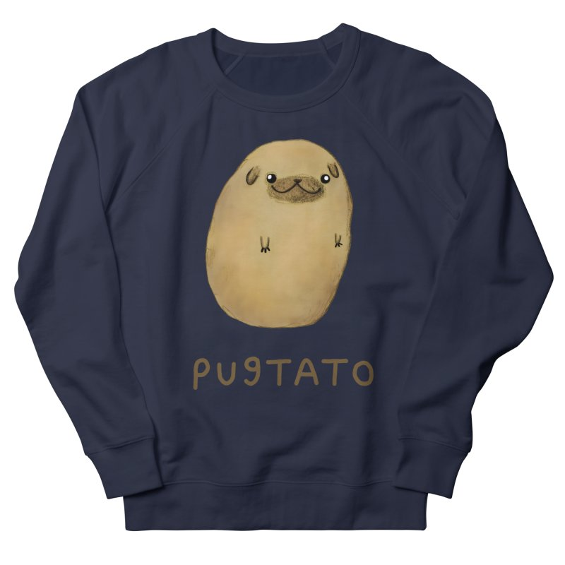 Pugtato Women's Sweatshirt by Sophie Corrigan's Artist Shop