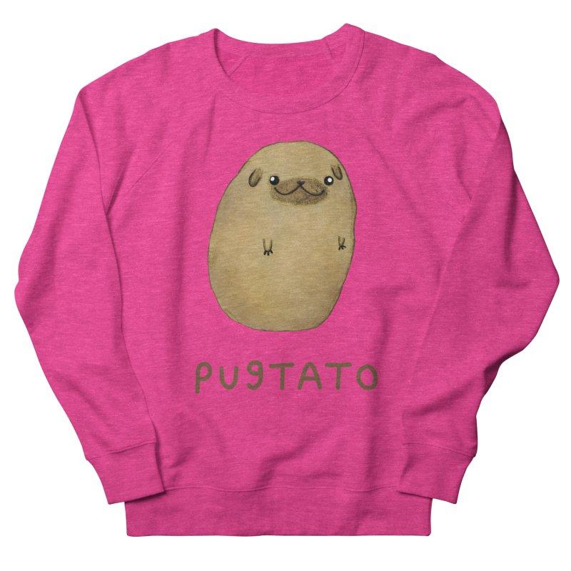 Pugtato Men's Sweatshirt by Sophie Corrigan's Artist Shop