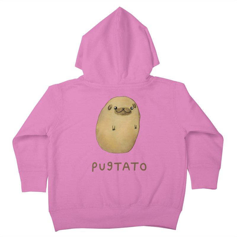 Pugtato Kids Toddler Zip-Up Hoody by Sophie Corrigan's Artist Shop