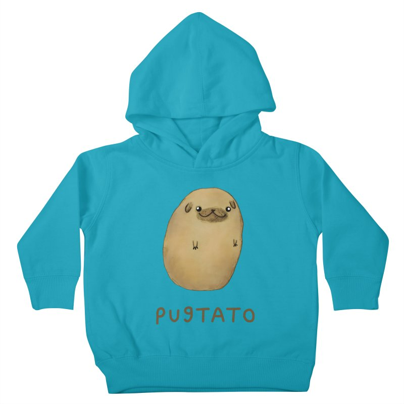 Pugtato Kids Toddler Pullover Hoody by Sophie Corrigan's Artist Shop