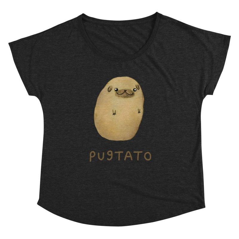 Pugtato Women's Dolman by Sophie Corrigan's Artist Shop