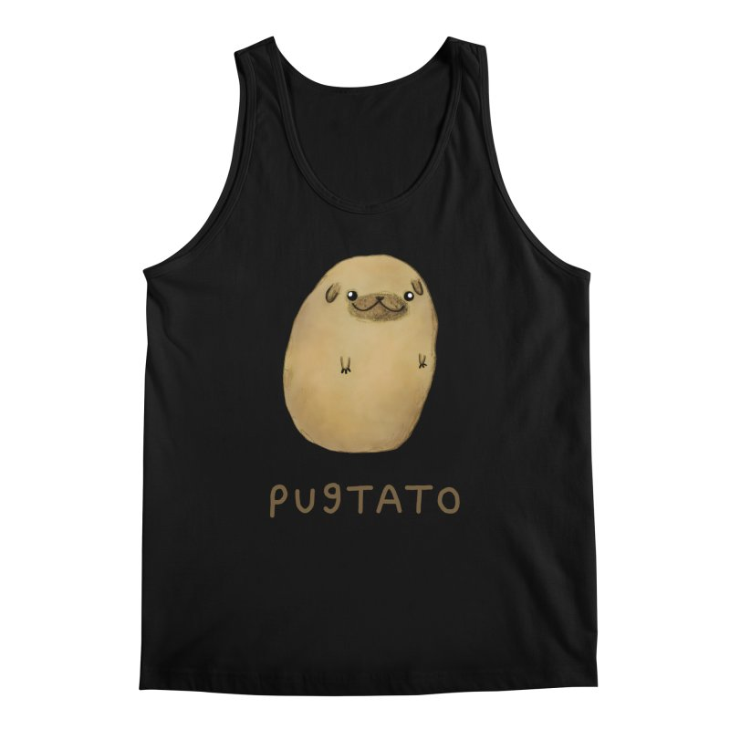 Pugtato Men's Tank by Sophie Corrigan's Artist Shop