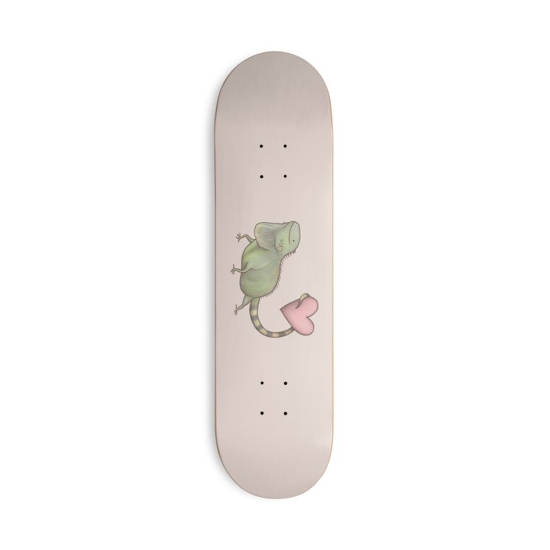 Iguana Love You Accessories Skateboard by Sophie Corrigan Shop