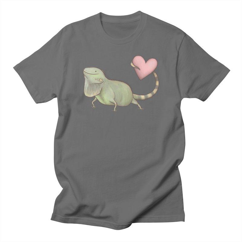 Iguana Love You Men's T-Shirt by Sophie Corrigan Shop