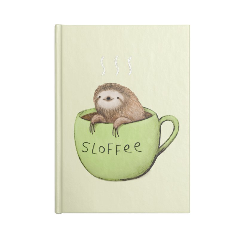 Sloffee Accessories Notebook by Sophie Corrigan Shop