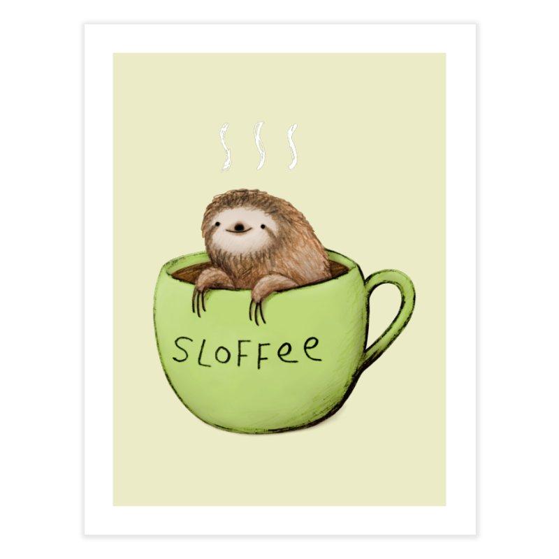 Sloffee Home Fine Art Print by Sophie Corrigan Shop