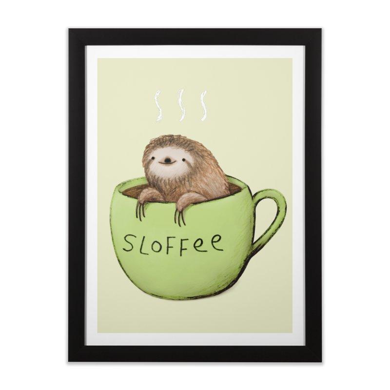 Sloffee Home Framed Fine Art Print by Sophie Corrigan Shop