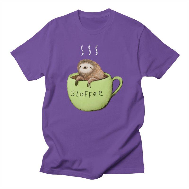 Sloffee Men's T-Shirt by Sophie Corrigan Shop