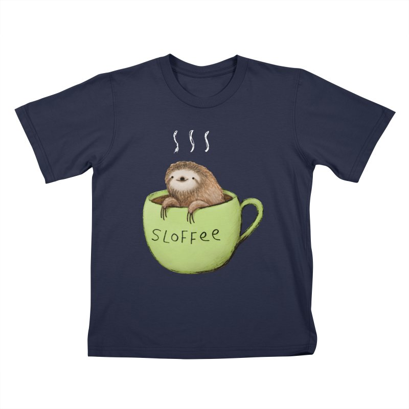 Sloffee Kids T-Shirt by Sophie Corrigan Shop