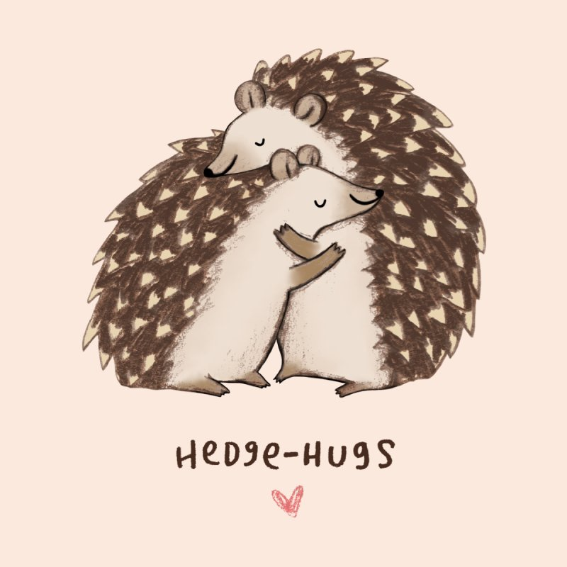 Hedgehugs Men's T-Shirt by Sophie Corrigan Shop