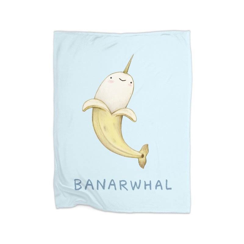 Banarwhal Home Blanket by Sophie Corrigan Shop