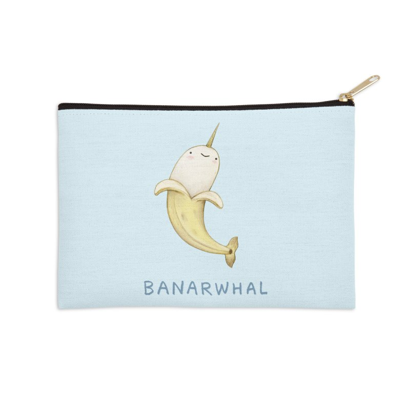 Banarwhal Accessories Zip Pouch by Sophie Corrigan Shop