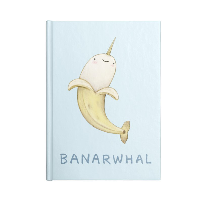 Banarwhal Accessories Notebook by Sophie Corrigan Shop