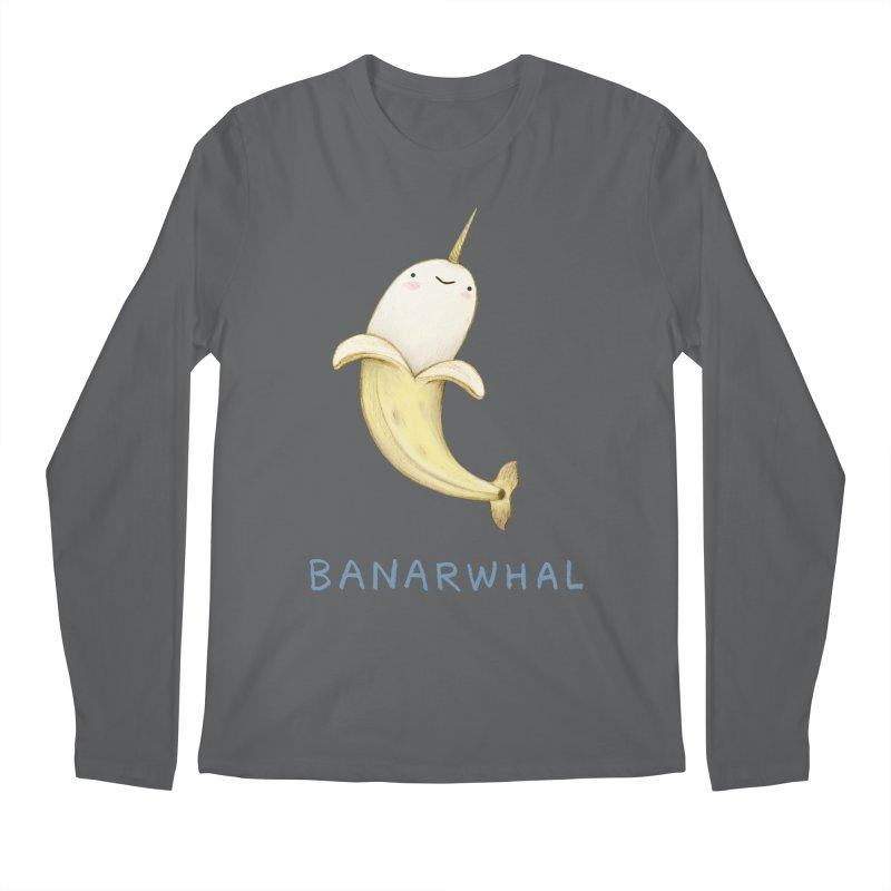 Banarwhal Men's Longsleeve T-Shirt by Sophie Corrigan Shop