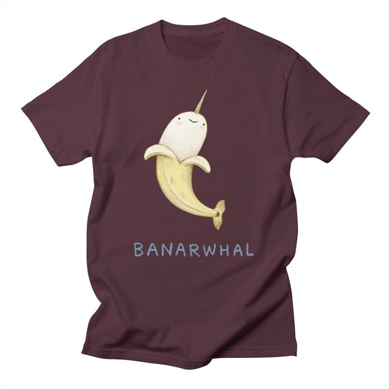 Banarwhal Men's T-Shirt by Sophie Corrigan Shop