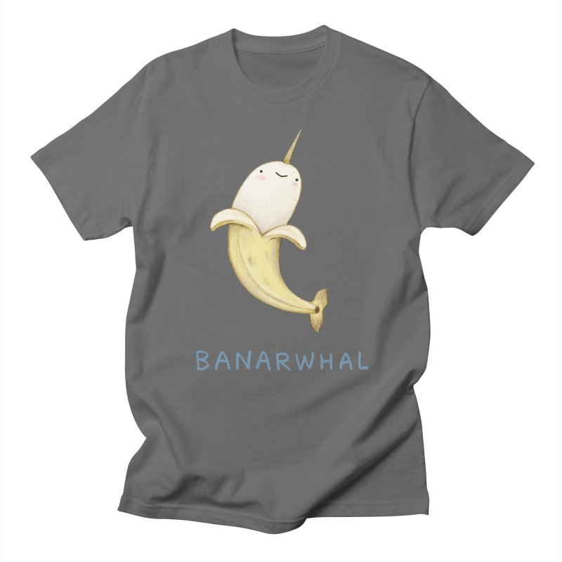 Banarwhal Men's T-Shirt by Sophie Corrigan Shop
