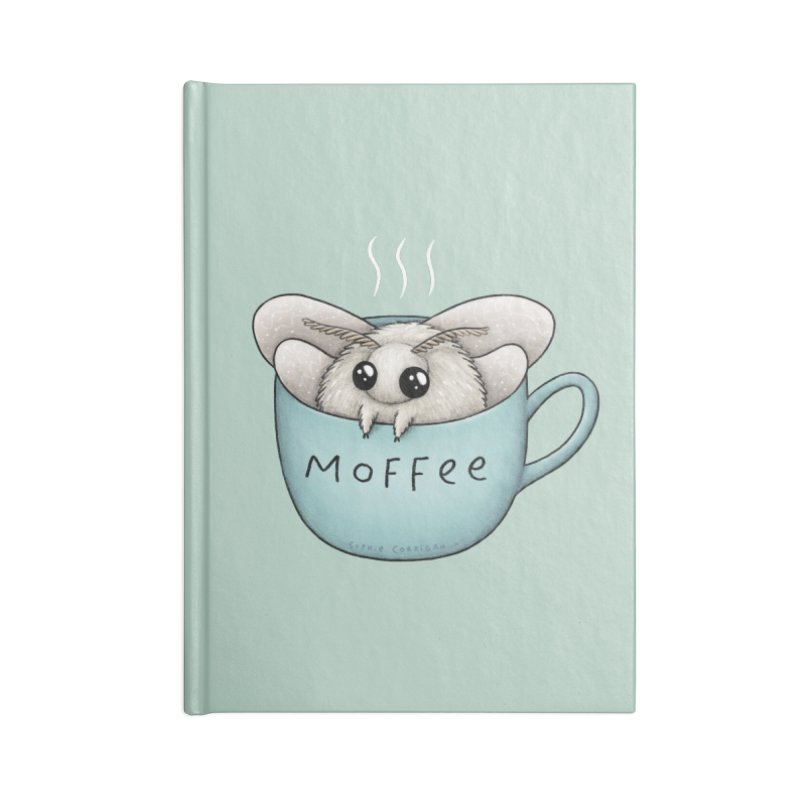 Moffee Accessories Notebook by Sophie Corrigan Shop