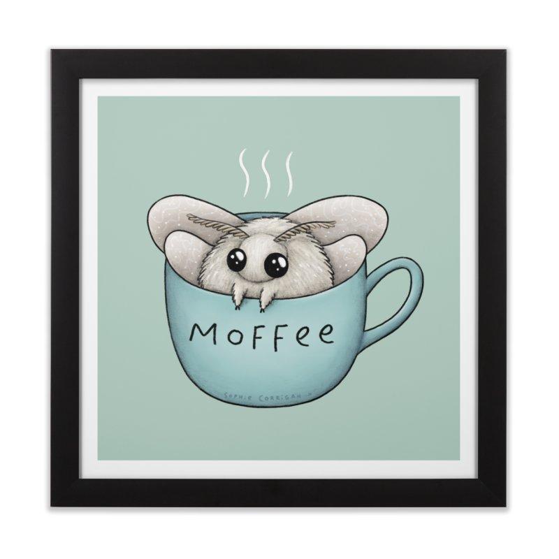 Moffee Home Framed Fine Art Print by Sophie Corrigan Shop