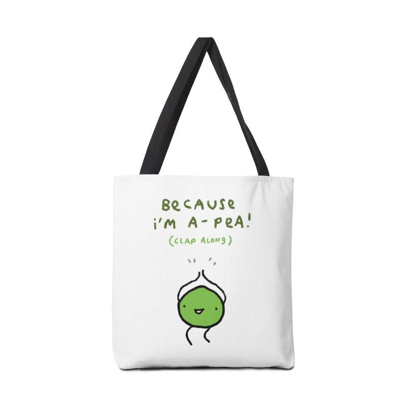 Happy Pea Accessories Bag by Sophie Corrigan Shop