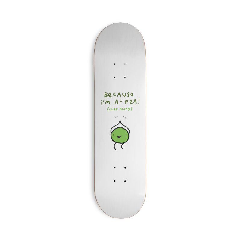 Happy Pea Accessories Skateboard by Sophie Corrigan Shop