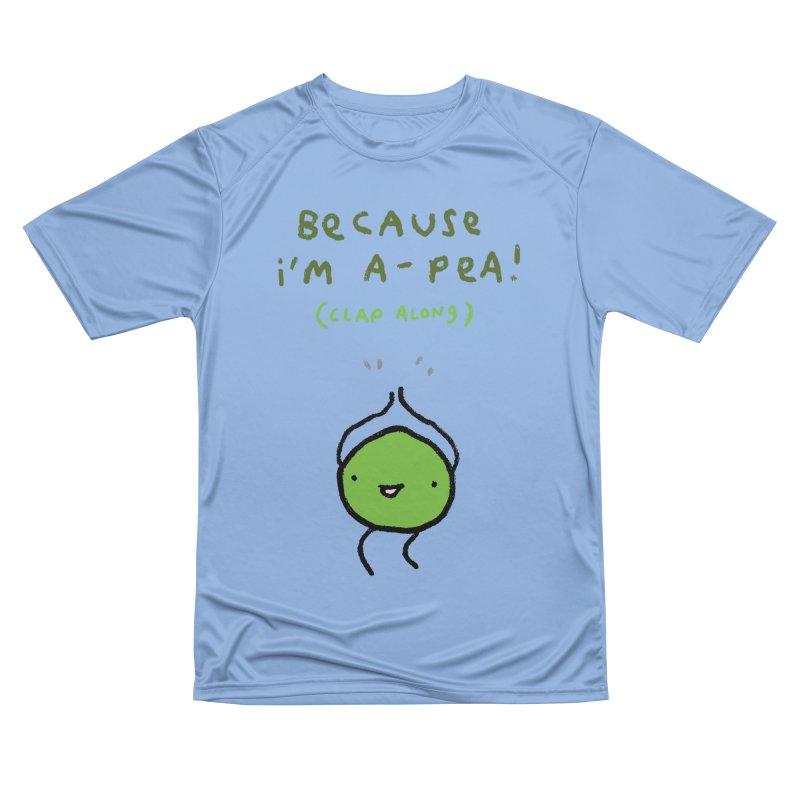 Happy Pea Women's T-Shirt by Sophie Corrigan Shop