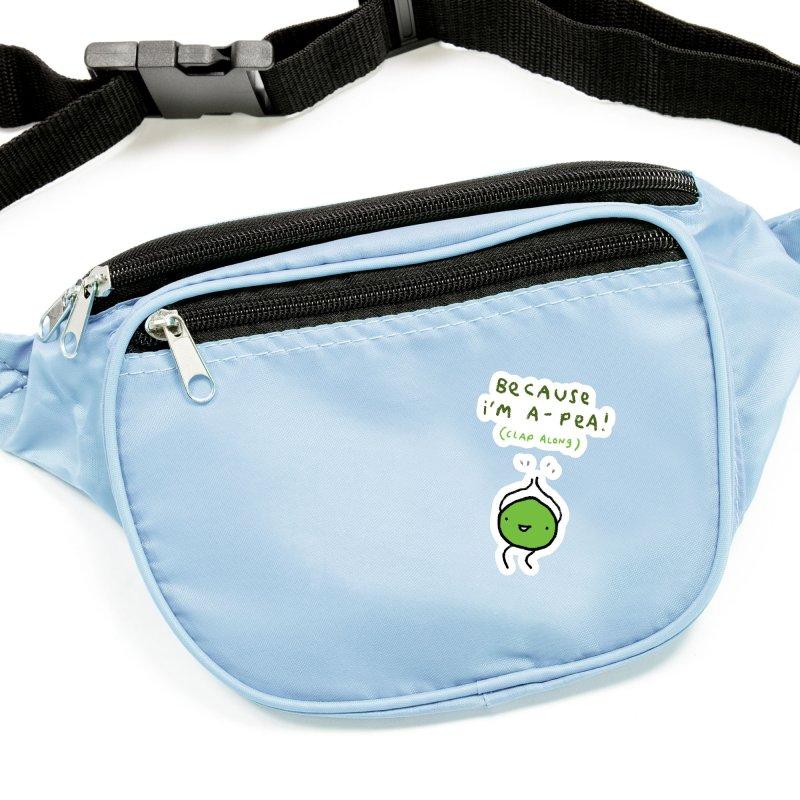 Happy Pea Accessories Sticker by Sophie Corrigan Shop